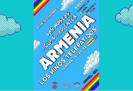 Armenia presenta su debut discográfico con una nómina de lujo