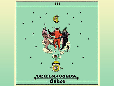 "Briela Ojeda presenta ""Búhoz"", segundo sencillo de su álbum ""Templo Komodo"""