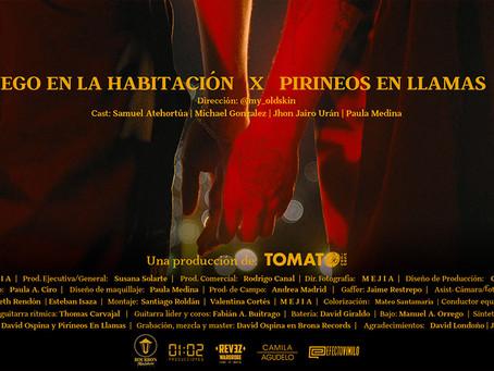 """Pirineos en Llamas presenta su debut discográfico con el clip de """"Fuego en la habitación"""""""