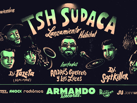 TSH Sudaca presenta su nuevo álbum con invitados de lujo