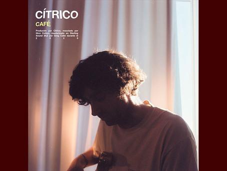 """Cítrico regresa con """"Café"""", un delicado sencillo con visos de R&B"""