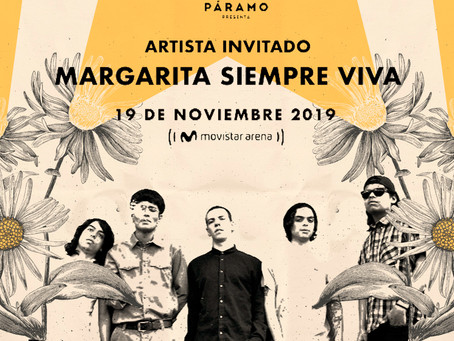 Margarita siempre viva será la encargada de abrir el concierto de Franz Ferdinand e Interpol