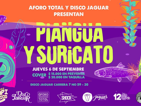 Aforo Total presenta: Piangua y Suricato