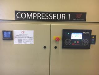 Centrale d'air comprimé 1535 kW
