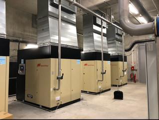 Installation et mise en service de 4 compresseurs Oil-Free Ingersoll-Rand