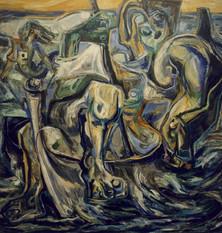 Naufragio (Desnudo en Barca)