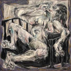 Desnudo en Blanco II
