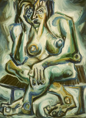 Desnudo en Espera
