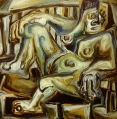 Desnudo en Sillón