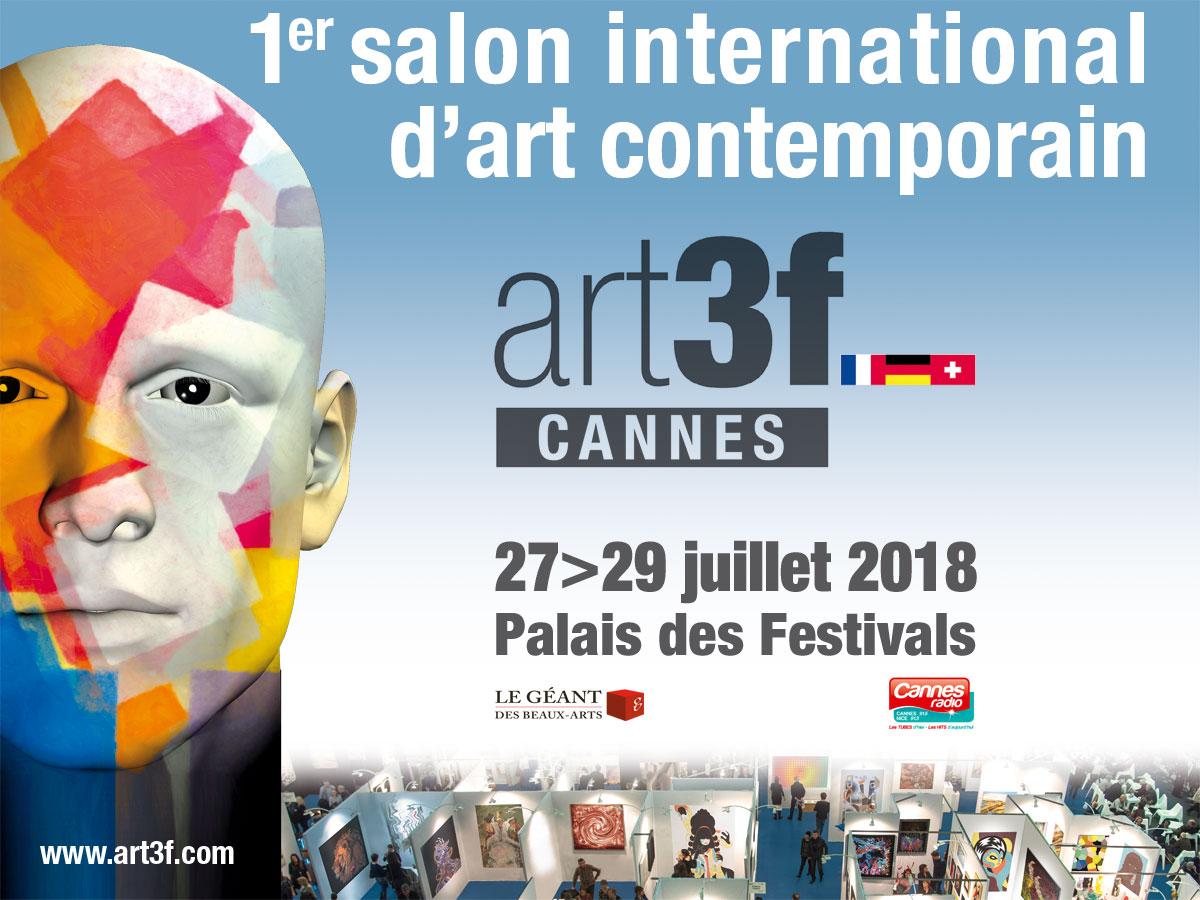 Feria de Arte de Cannes julio 2018