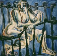 Desnudo con Balcón