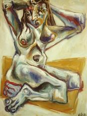 Desnudo Posando