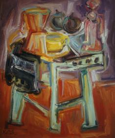 Bodegón de la Cafetera