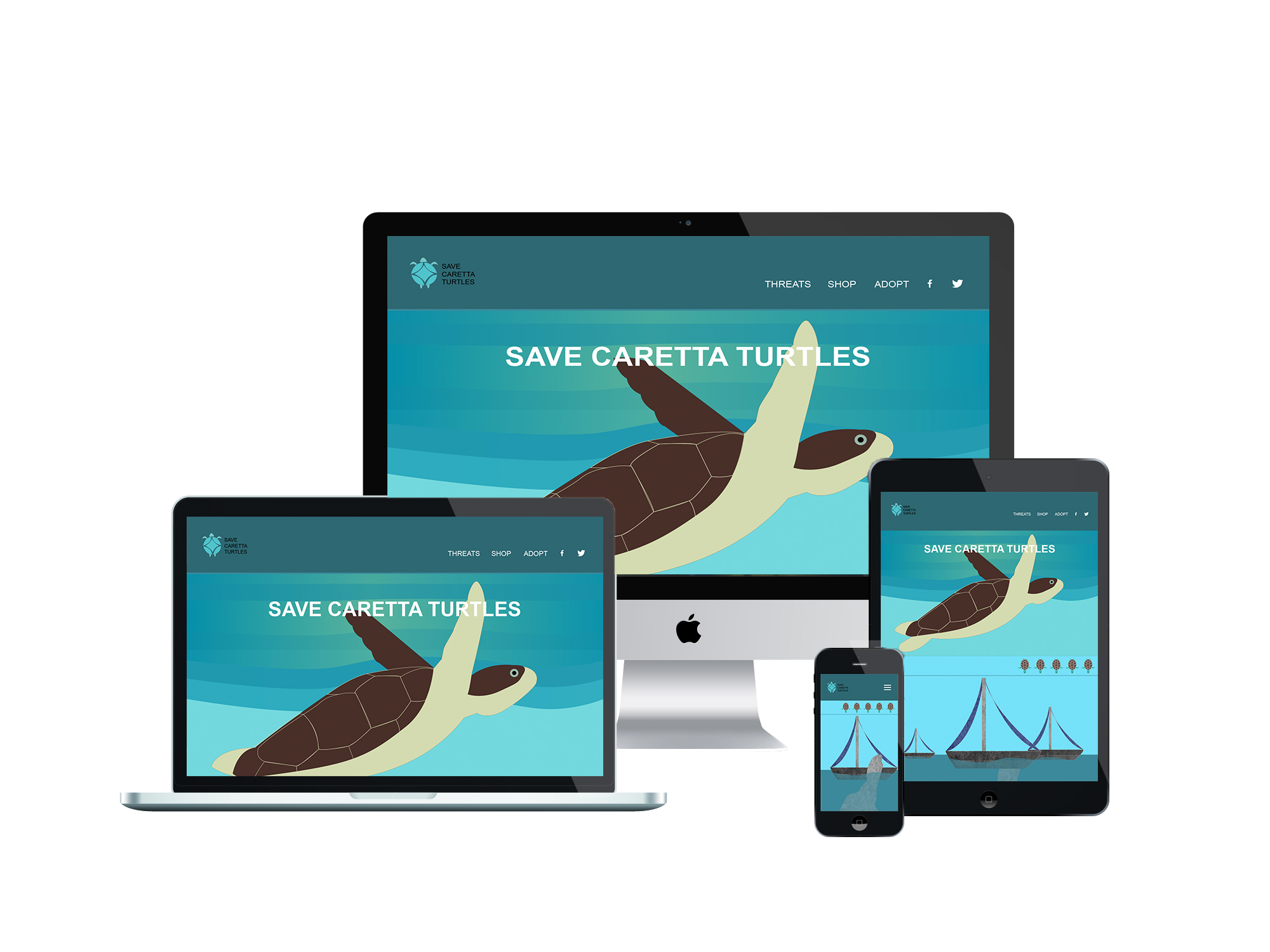 Save caretta turtles.org