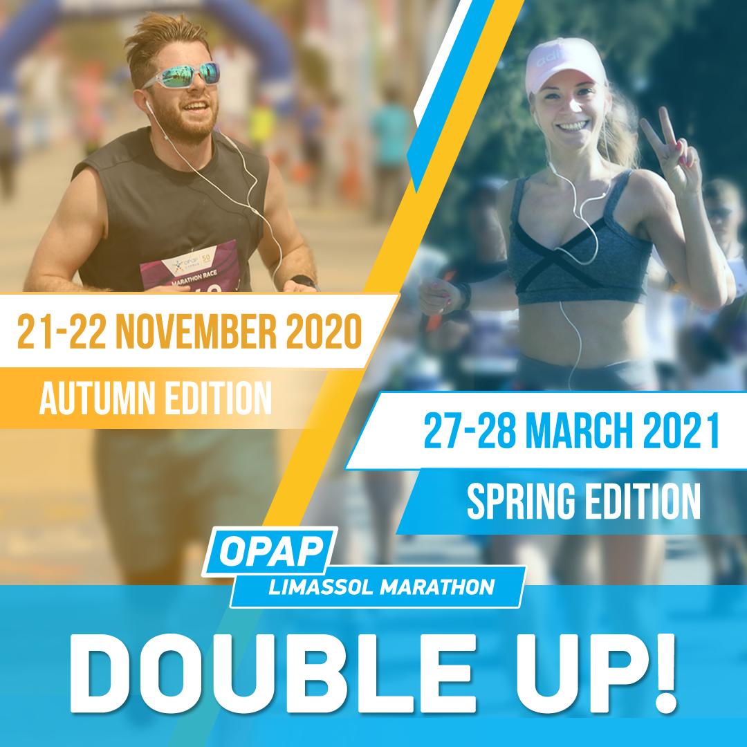 Limassol Marathon 'Double up!' campaign