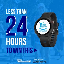 Garmin watch competition