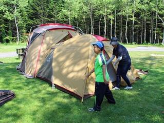 10月3・4日 はじめてのファミリーキャンプ