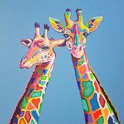 Mr and Mrs Giraffe