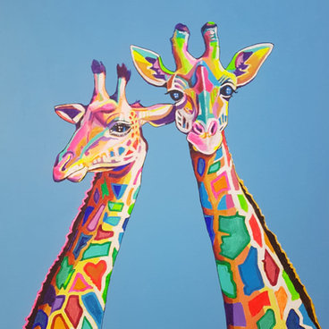 Mr and Mrs Giraffe