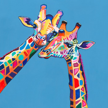 2 Giraffes