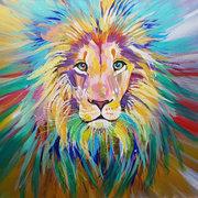 Large Friendly Lion