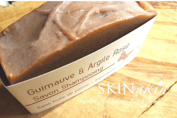 Savon Shampooing Guimauve & Argile Rose