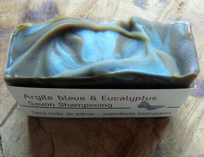 Savon Shampooing Argile bleue & Eucalyptus avec Ortie et Neem