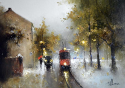 Трамвайчик. Осень