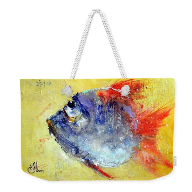 "Пляжная сумка "" Gj Fish """