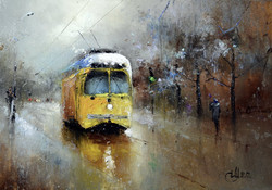 Про жёлтый трамвайчик