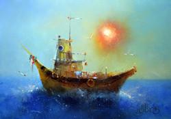 Тайский кораблик
