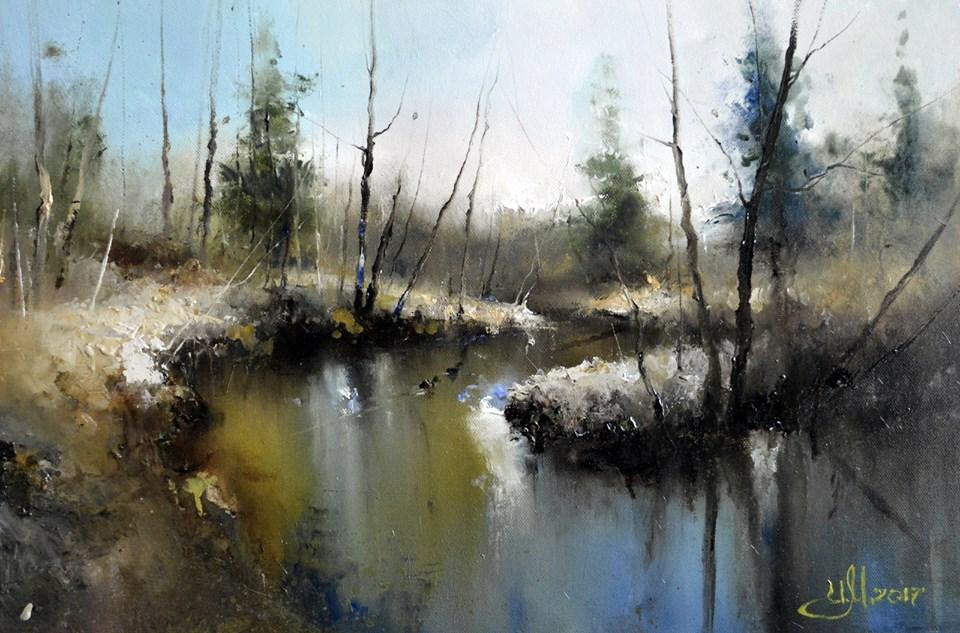 Уточкиапрельский денёк на Сходне-речке