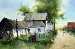 Дворик в Пачково