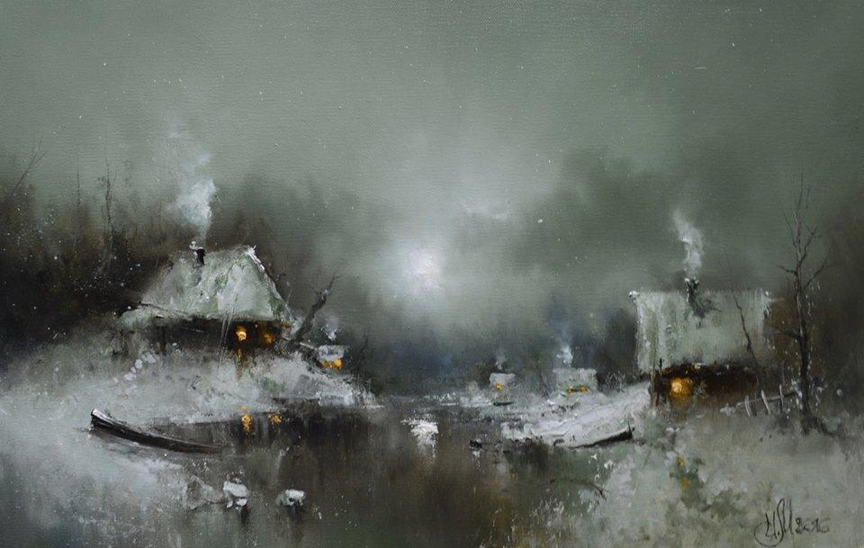 пьеса для луны и зимней реки