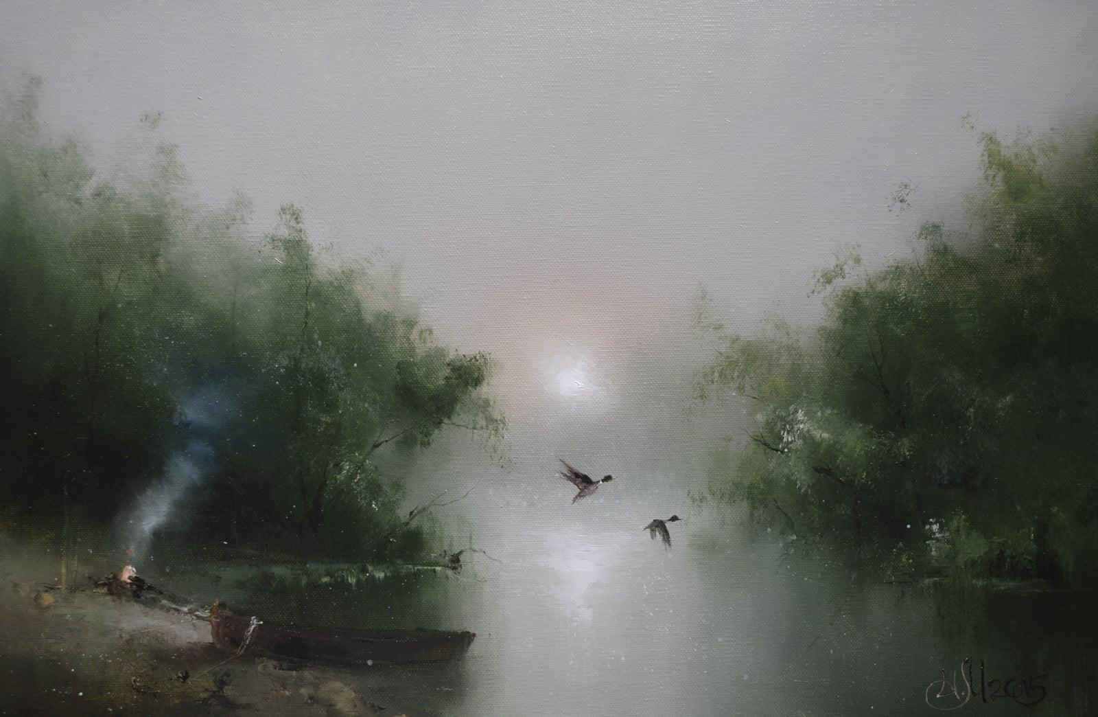 Утро на реке Тьма близ Берново