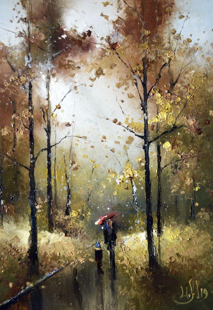 Неторопливая прогулка по осени