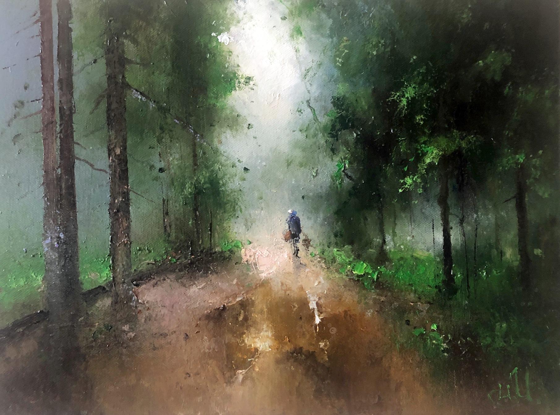 По лесной дороге