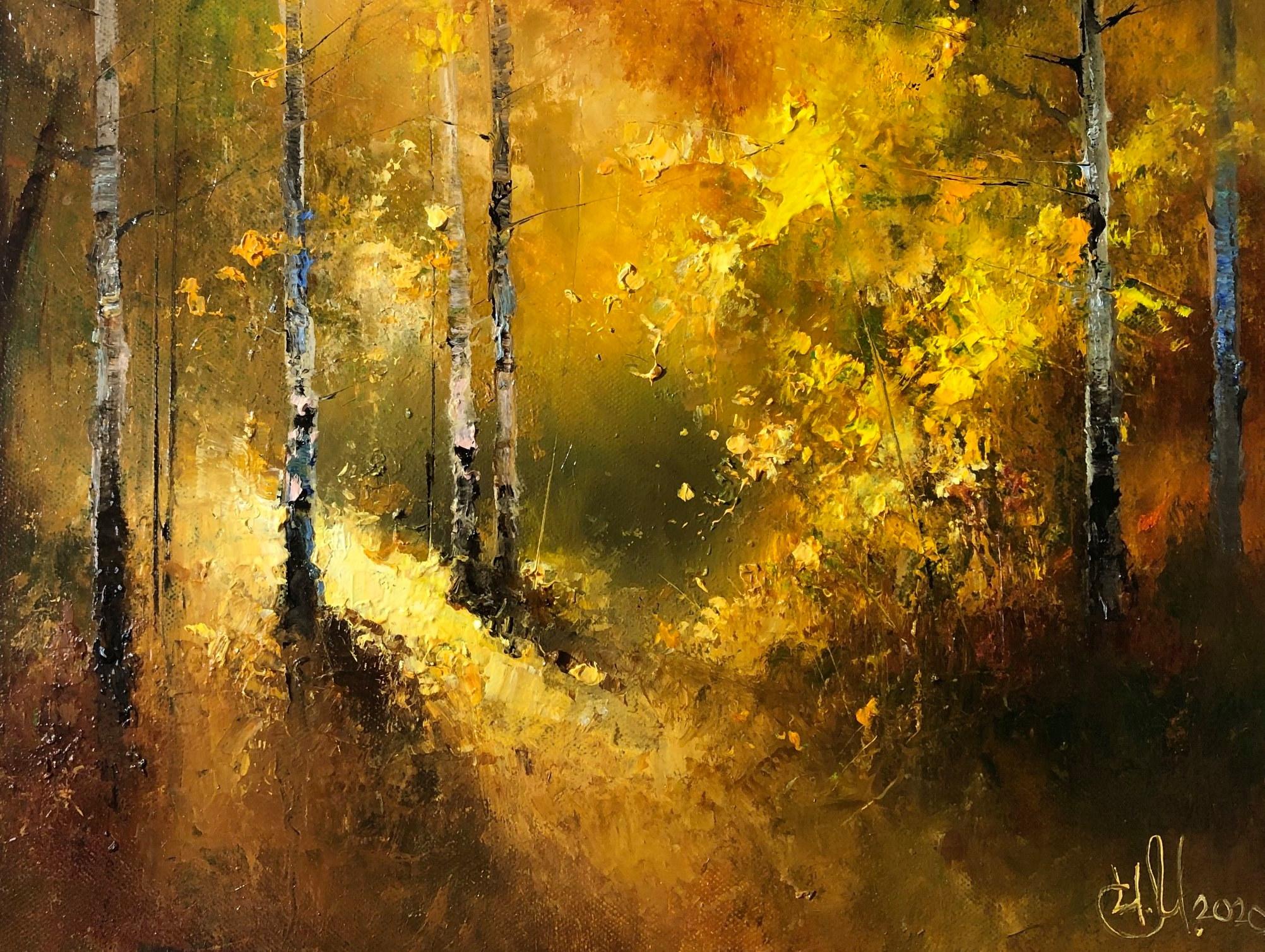 Осенний сон , вальс для гармоники