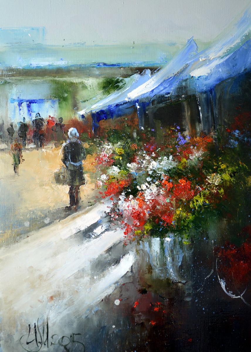 Цветочный рынок в Крюково