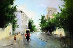 Москва. Трамвайчик на Новокузнецкой