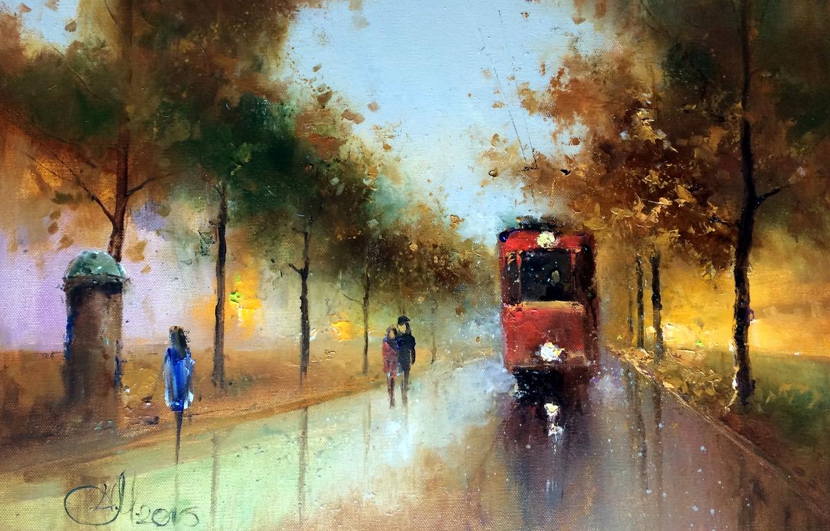 Осенний трамвайчик