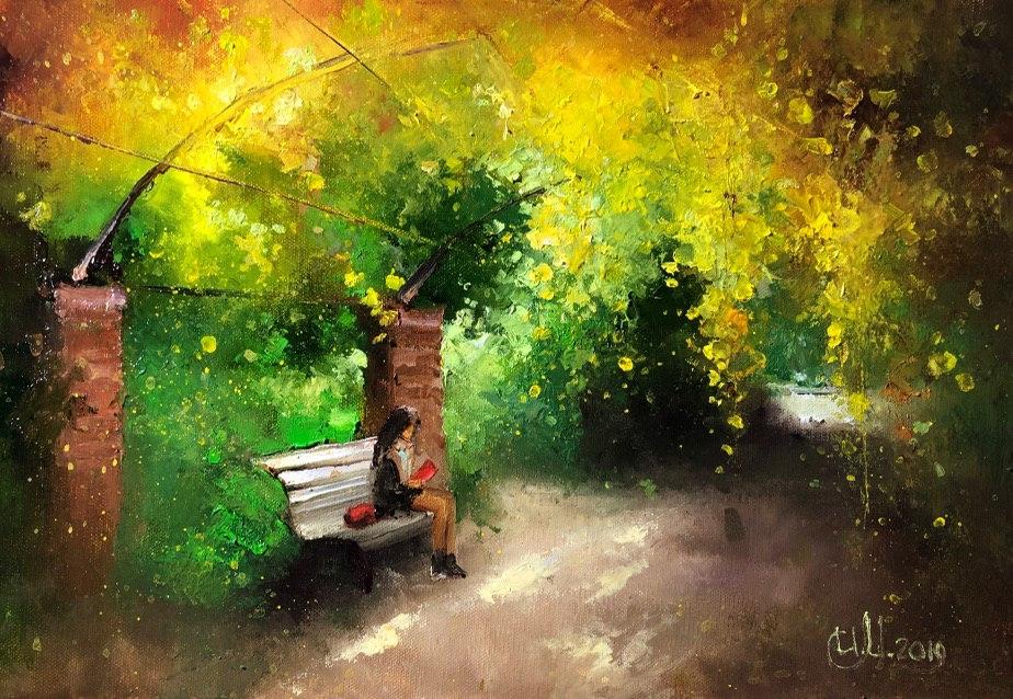 Осенний набросок в Аптекарском огороде