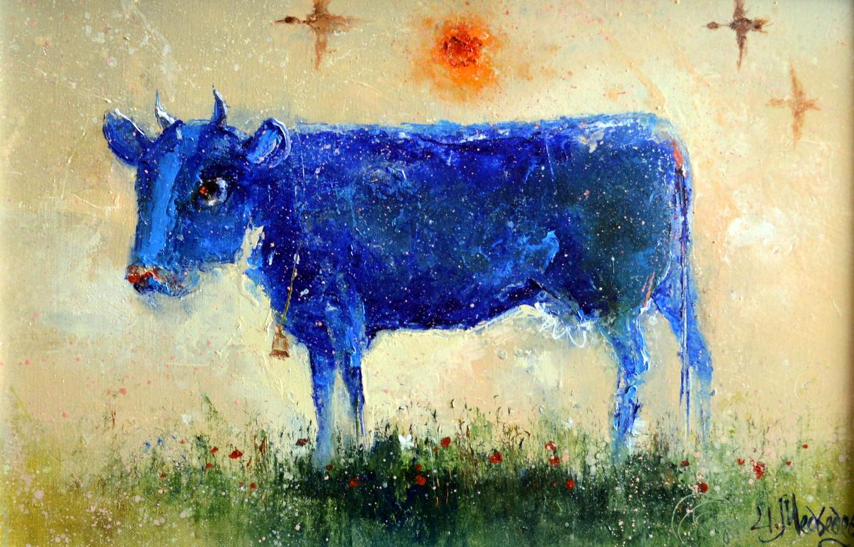 Вечерняя корова