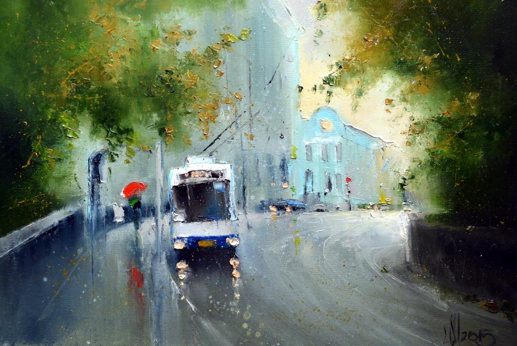 Осень на Гоголевском бульваре