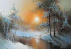 Про зимний закат