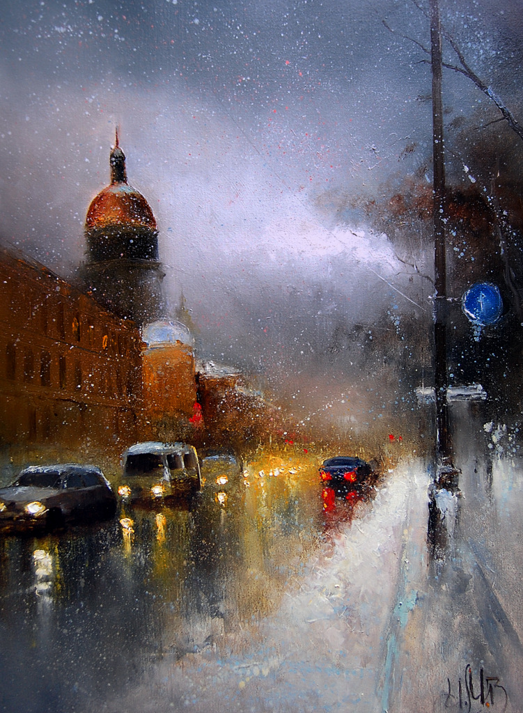 Питерский снег