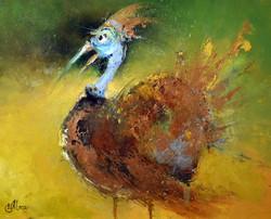 Птиц золотистый