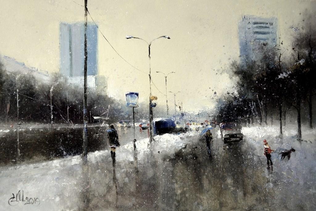 Городской романс . Зима
