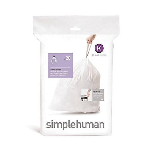 "Simple Human ""K"" Bin Liners"
