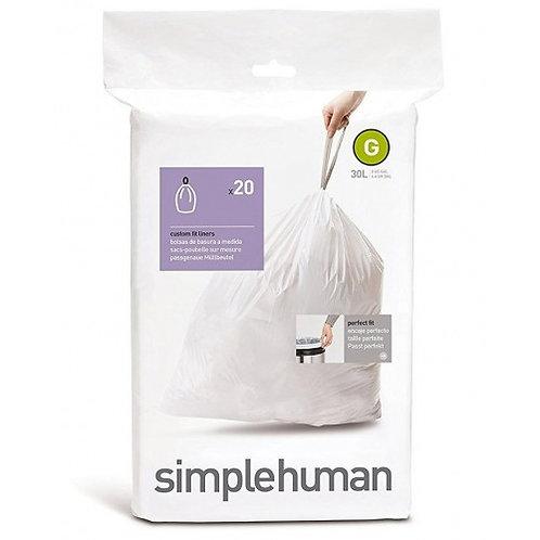 "Simple Human ""G"" Bin Liners"